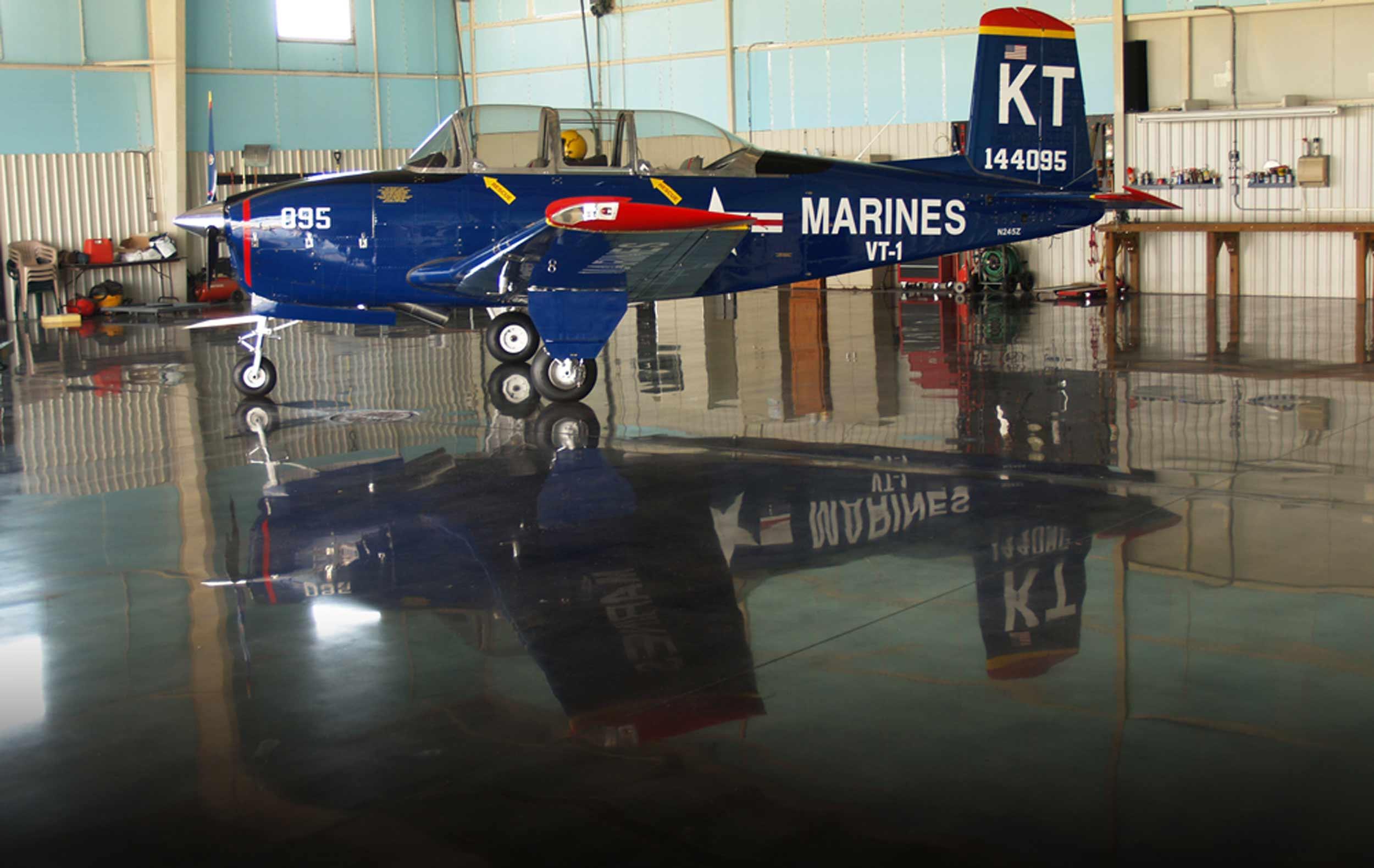 Imageonline Plane Final Performance Concrete Polishing