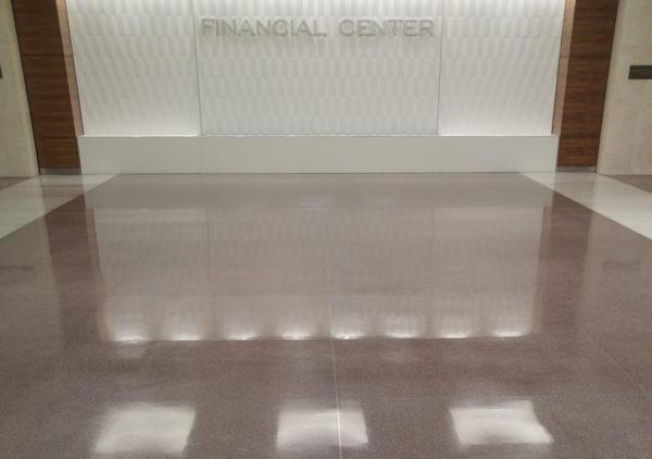 restored terrazzo floors