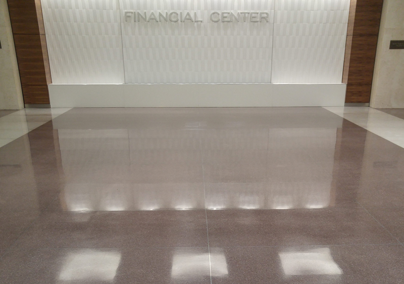 Terrazzo Restoration Mechanically Polished Concrete Iowa - How to maintain terrazzo floors