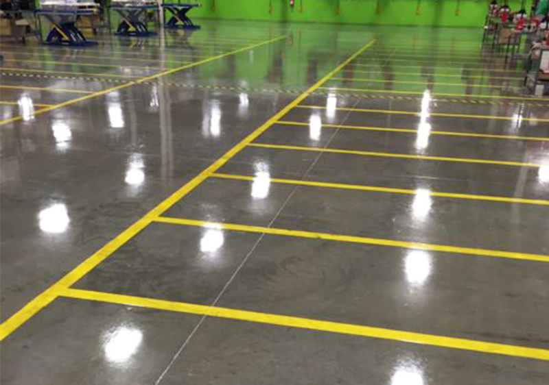 industrial polyurethane concrete floor coating