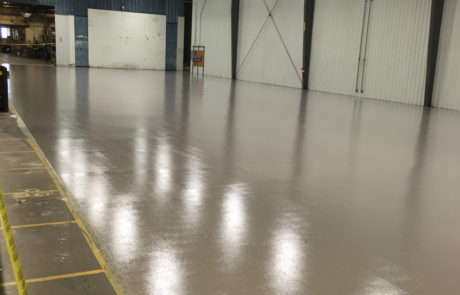 industrial concrete finishes