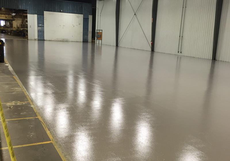 polyurethane concrete coatings