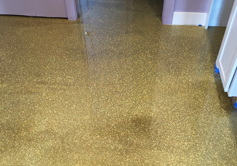 textured epoxy floor coating
