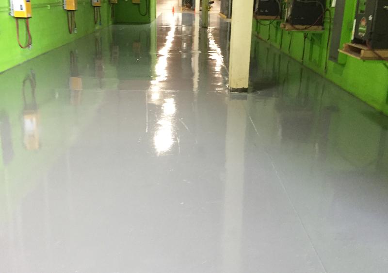 polyurethane concrete floor coating