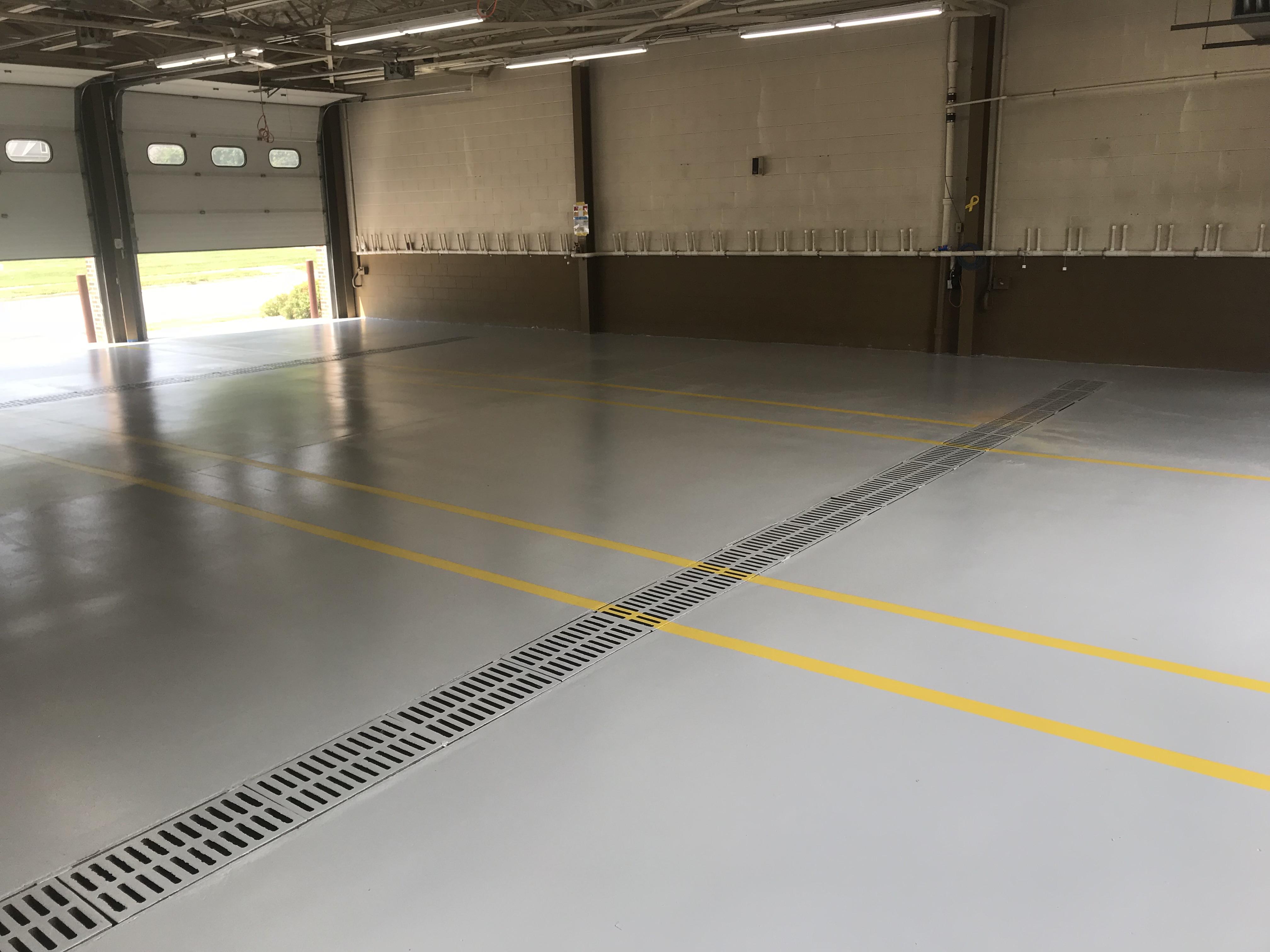 Hybrid Polyurethane Concrete Coating