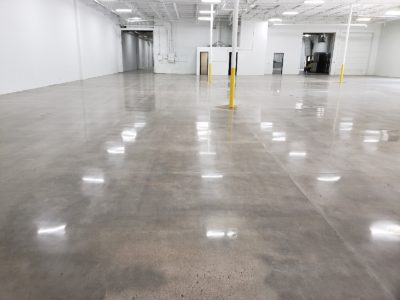 Concrete Floor With No Dye