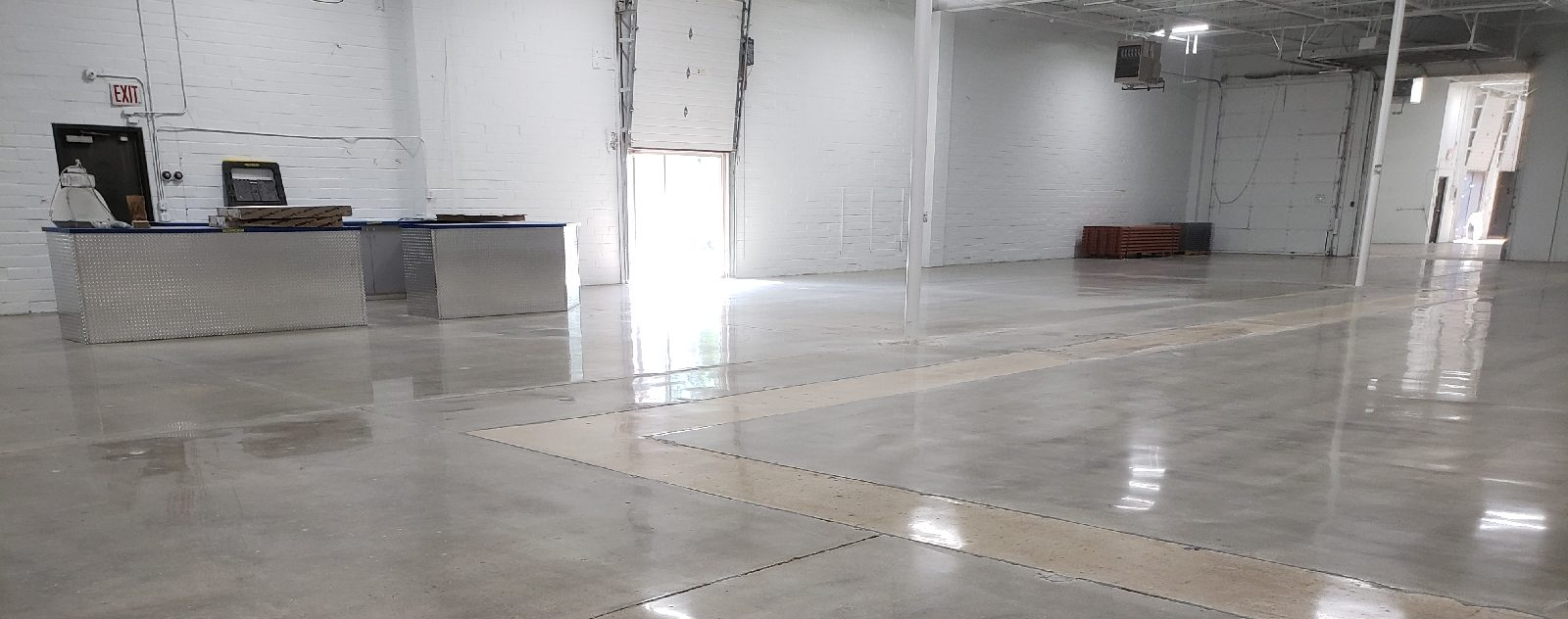 Mechanically Polished Concrete Floor