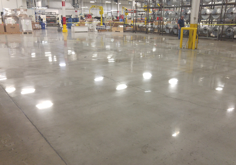 New Material Protects Polished Concrete Floors