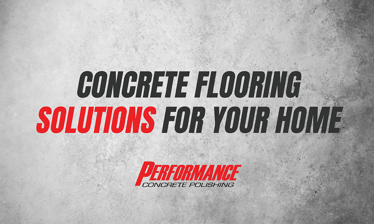 Residential Concrete Polishing And Coating Performance