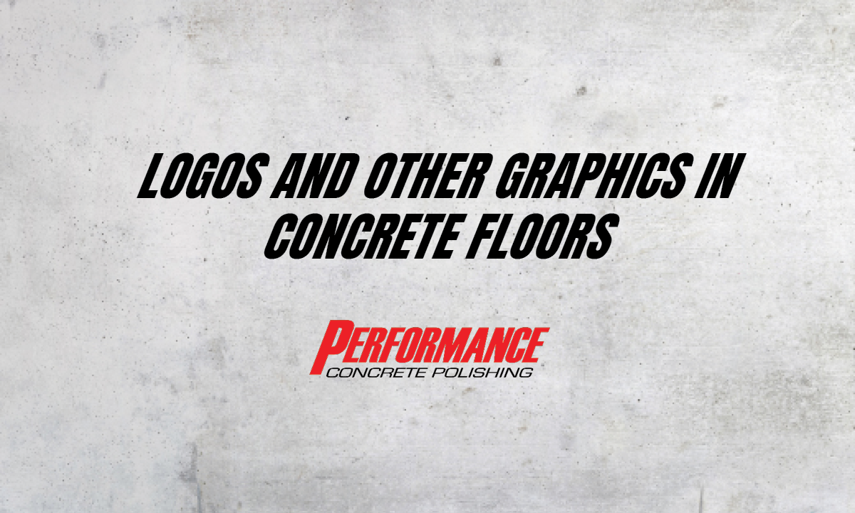 Logos in Concrete Floors