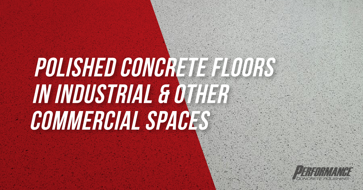 Industrial Concrete Polishing Graphic