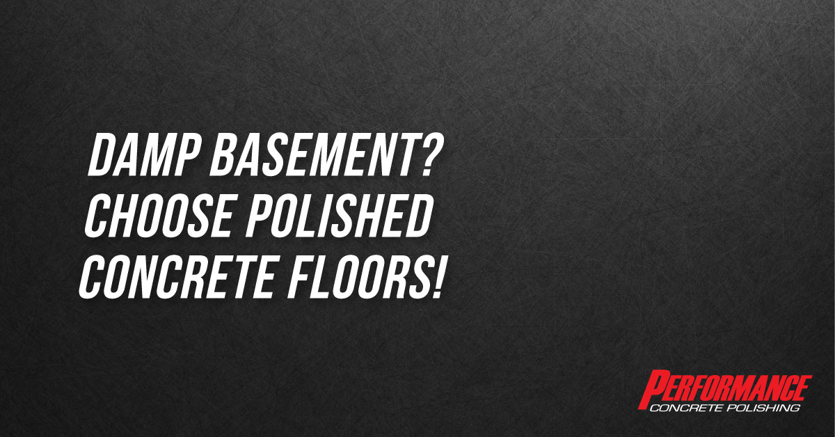 Polished Concrete in Basements Graphic