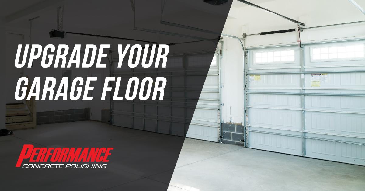 Upgrade Your Garage Floor Graphic