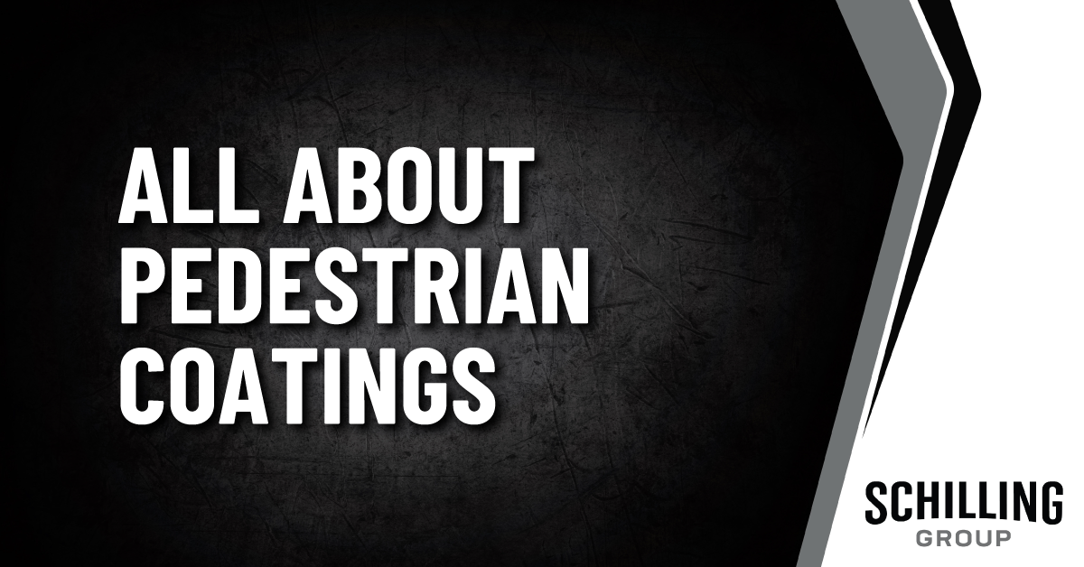 All About Pedestrian Coatings Graphic