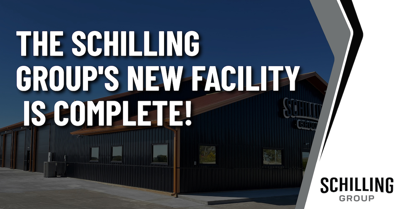 The Schilling Group's New Facility Is Complete! Graphic